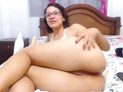 Colombian nerd expert in ass to mouth porn tube video