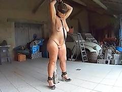 Chained, BDSM, Fucking, Mature, Chained, Gaping