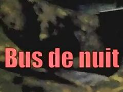 Exhibe in night's bus porn tube video