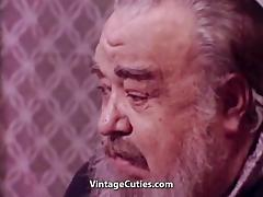 Old Fat Man Watches Lesbians Have Sex (1960s Vintage) tube porn video