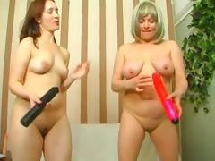 Moms in pussy play