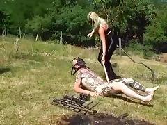 Femdom, Ass, Femdom, Spandex, Leggings, Pain
