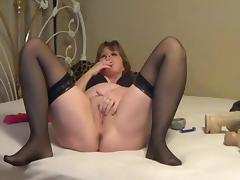 Jolee having a smoke and rubs her pussy tube porn video