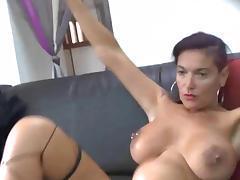 Busty MILF Gets Gangbanged porn tube video