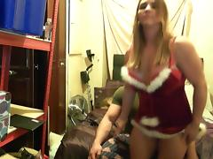 tabbyanne sexy christmas striptease and lap dance special porn tube video