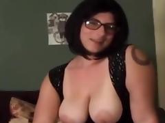 Busty Hairy Lara Dildoing porn tube video