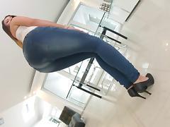 Ass, Ass, Bitch, Close Up, Jeans, Masturbation