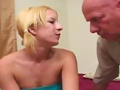Old pervert and young girl
