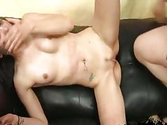 Gia Paige totally destroyed in hard rough sex!