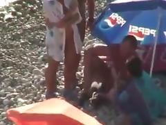 Beach, Amateur, Beach, Big Tits, Fucking, Voyeur