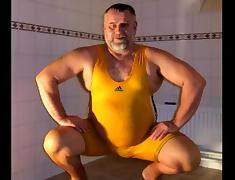 Presenting my wrestling singlets tube porn video