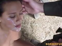 Civilian hottie fucking with BP agent porn tube video