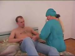 Vixenish doctor gives her horny patient a special exam tube porn video