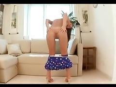 Cute Dildofuck (vaginal & anal) porn tube video