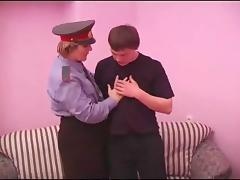 Dashing officer gets a cock to suck then ride hardcore till orgasm tube porn video