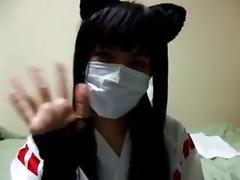 Asian Crossdresser tube porn video