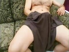 Mature crossdressers in threesome sex tube porn video