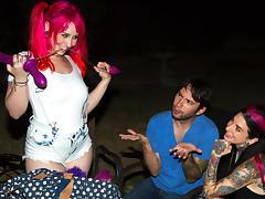 Joanna Angel & Tommy Pistol & Proxy Paige in Proxy Paige Butt Fun Scene tube porn video