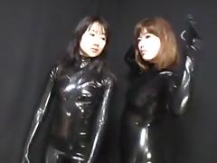 Catsuit, Asian, Black, Catsuit, Ebony, Japanese