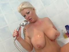 Bathing, Bath, Bathing, Bathroom, Bitch, Boobs