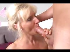 Mom and Boy, 18 19 Teens, Blonde, Mature, Old, Penis
