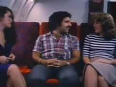 Ron helps Paula Di S and Martina join the mile high club porn tube video