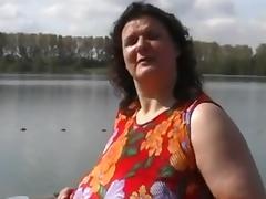 Mature BBW porn tube video