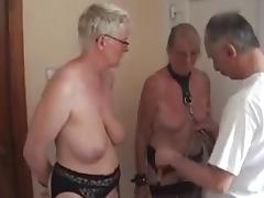 Fun with my mature Dutch slaves porn tube video