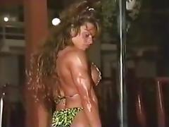 Bikini, Bikini, Muscle, Bodybuilder
