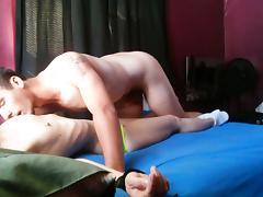 Young Boy Toy Fucks Horny MILF