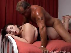 Cute curvy chubby chick is a super hot fuck porn tube video