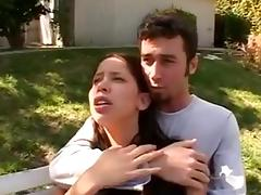 james deen goes medieval on a cutie for stealing a lemon