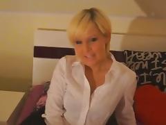 Blonde milf anal sex