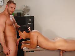 Shay Michaels & Tony Newport in The Plea Bargain Video tube porn video