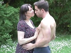 Mom and Boy, British, Fucking, Mature, Mom, Old and Young