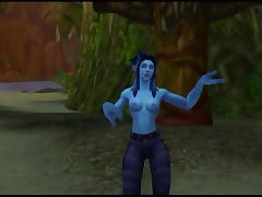 Warcraft Troll Strip Dance porn tube video