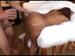 I'm fucking a lusty milf with a big butt