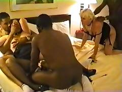 Interracial, Amateur, Banging, Brunette, Gangbang, Group
