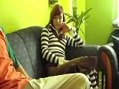 German college slut fucks a handsome man. tube porn video