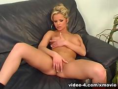 PimpPassport Clip: sarah on the black couch