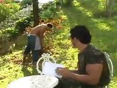 Fucking the gardener !!! tube porn video