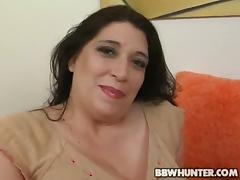 BBW Dominique Gets Picked , Stripped And Cock Sucks! porn tube video