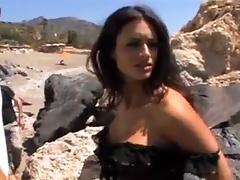 Italian, Backroom, Backstage, Big Tits, Brunette, Italian