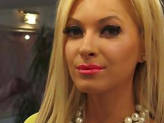 Blonde Glam Tease Long Nails porn tube video