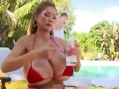 asian milf with very huge bumpers porn tube video