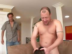 Latina with fake big tits loves feeling a hard dick in her asshole