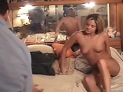 Salacious babe with a great ass enjoying a hardcore cowgirl style fuck porn tube video