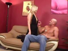 Blonde fucking her delicious oiled butt