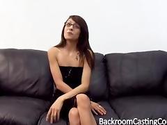 Chatty minx loves having anal sex