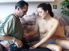 oldman big cock for young actress porn tube video